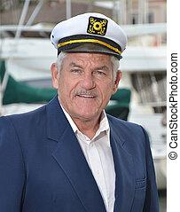 Sailor Captain - Portrait of a seaman