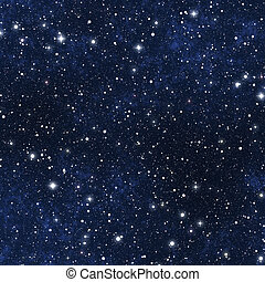 star filled night sky