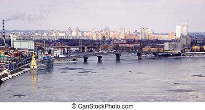 View of Kiev
