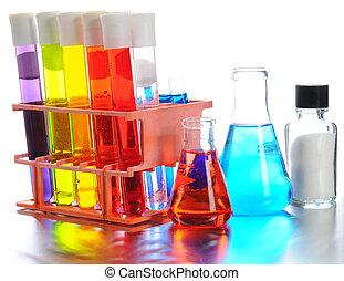 Laboratory Equpiment - Closeup of scientific laboratory...