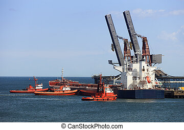 Towing vessel