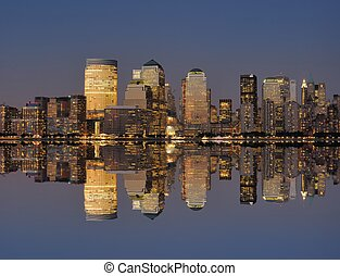 West side of Manhattan - West side of lower Manhattan New...