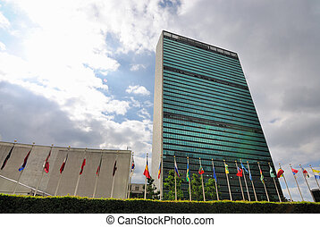 United Nations Building - NEW YORK CITY - JUNE 17: The...