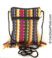 shoulder bag change purse made in Nicaragua