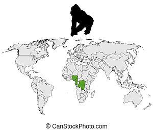 World Gorilla range