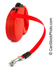 retractable leash for dog - Red retractable leash for dog...