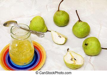 pear marmelade
