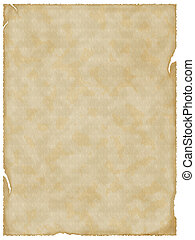 Empty old paper. Textured background