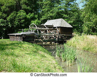 watermill from Romania - Traditional watermill from Romania