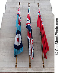 The Cenotaph, London - Cenotaph to commemorate the deads of...