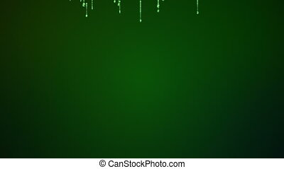 Matrix - High quality 3D background animation with camera...