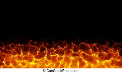 Fiery background - High quality fiery motion background The...