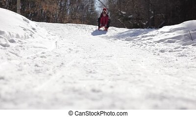 Cheerful ride