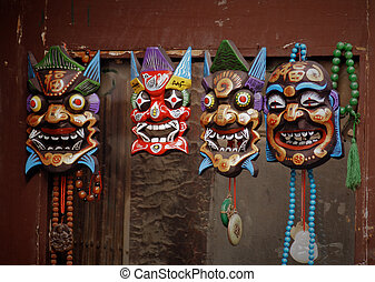 Traditional chinese mask