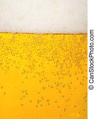 beer - mug of beer as background