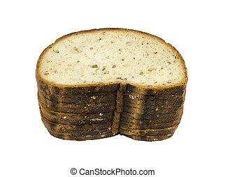 7-grain freshly baked bread - 7-grain freshly healthy bread...