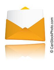 Gold envelope award
