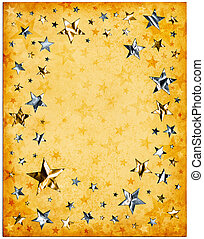 Old Paper and Stars