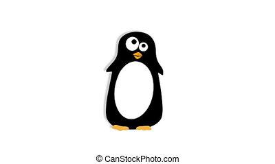 Dancing penguin, hd - Dancing and singing penguin