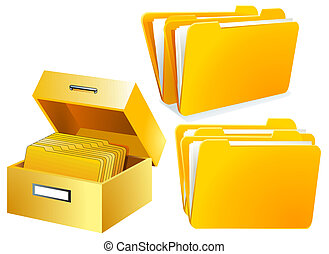 Index Card Folder