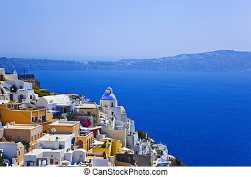 Santorini View - Greece - Santorini View Thira - vacation...