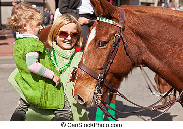 The 160th Annual St Patricks Day Parade - SAN FRANCISCO, CA,...