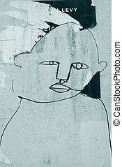 Simple portrait of a man