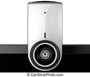 Web camera e-learning concept