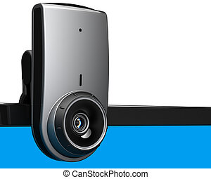 Computer web camera video chat