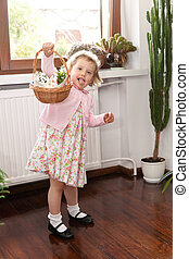 Blessing of the Easter baskets - Ready for blessing of the...