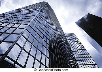 Big business - Futuristic corporate office buildings - La...