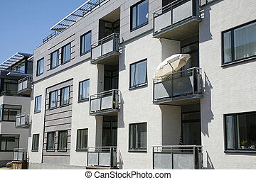 Appartment building - New apartment building at the...