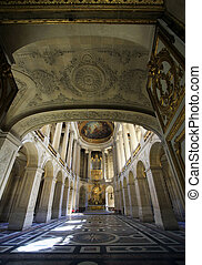 Versailles Palace - Royal Chapel of Versailles Palace,...
