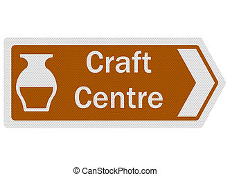 Tourist Information Series: Craft Centre, isolated