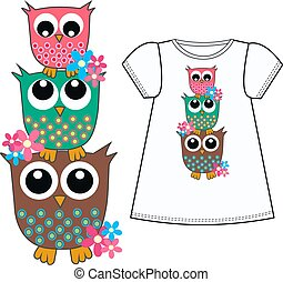 owl pattern for childrens clothes