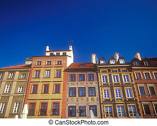 Warsaw, Old Town.