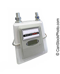 Energy volume meter, power consumption, isolated - single...