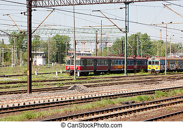 Railway electrification system supplies electrical energy to...