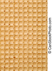 Waffle texture, abstract food background