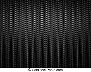 Chrome Metal texture - Metal chrome texture with honeycomb...