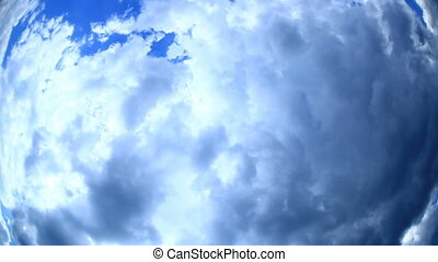 Sky Fish-eye - Nature