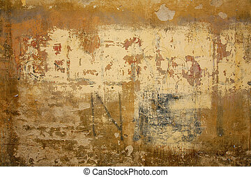 Abstract background - Nice Italian wall found in Siena...