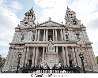 St Paul Cathedral, London - St Paul Cathedral in London...