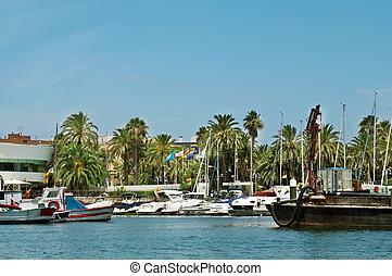 Yacht Club on the coast