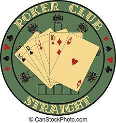 Symbol club pok
