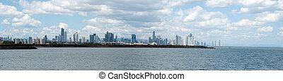 Panama City - Panam City Panorama