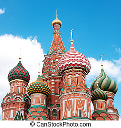 St Basils Cathedral in Moscow on red square