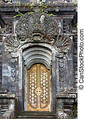 """The biggest temple complex, """"mother of all temples """". Bali,Indonesia. Besakih.gate."""