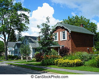 Houses in Gananoque, Ontario, Canada - Houses and their...