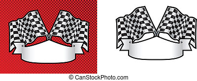 motor racing checkered, chequered flag background -...
